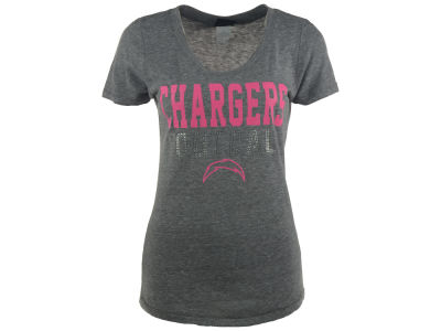 San Diego Chargers NFL Women's Bling Touchdown T-Shirt