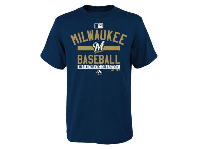 Milwaukee Brewers Outerstuff MLB Youth On-Field Team Property T-Shirt
