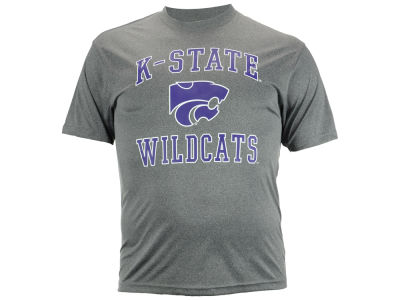 Kansas State Wildcats NCAA Men's Ghost Poly T-Shirt