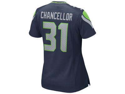 Seattle Seahawks Kam Chancellor Nike NFL Women's Game Jersey