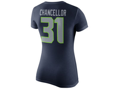 Seattle Seahawks Kam Chancellor Nike NFL Women's Player Pride T-Shirt