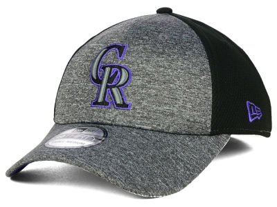Colorado Rockies New Era MLB Tech Fuse 39THIRTY Cap