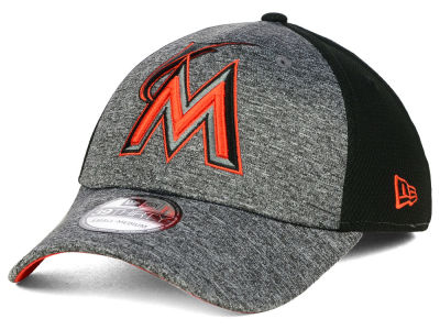Miami Marlins New Era MLB Tech Fuse 39THIRTY Cap