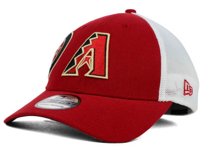 Arizona Diamondbacks New Era MLB Double Mesh 39THIRTY Cap