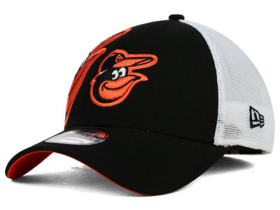 Baltimore Orioles New Era MLB Double Mesh 39THIRTY Cap