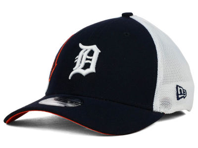 Detroit Tigers New Era MLB Double Mesh 39THIRTY Cap