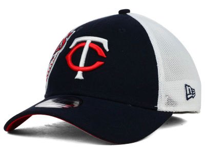 Minnesota Twins New Era MLB Double Mesh 39THIRTY Cap