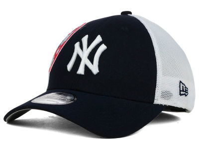 New York Yankees New Era MLB Double Mesh 39THIRTY Cap