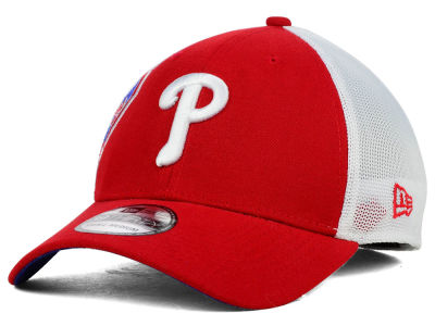 Philadelphia Phillies New Era MLB Double Mesh 39THIRTY Cap