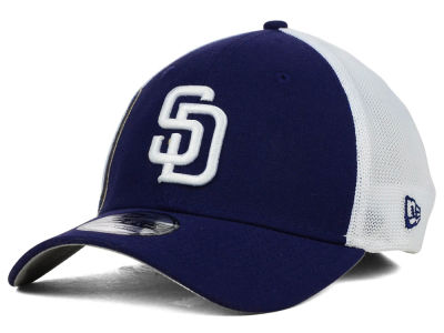 San Diego Padres New Era MLB Double Mesh 39THIRTY Cap