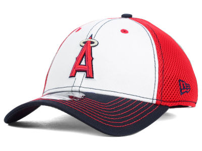 Los Angeles Angels New Era MLB White Front Neo 39THIRTY Cap