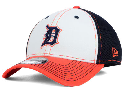 Detroit Tigers New Era MLB White Front Neo 39THIRTY Cap
