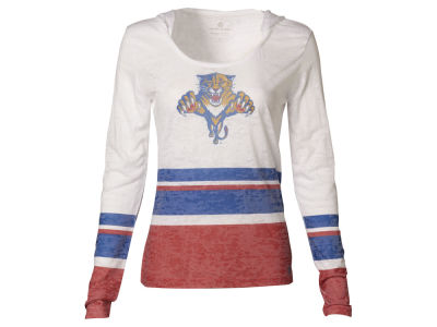 Florida Panthers NHL Women's Skate Lace Lucy Flag Long Sleeve T-Shirt