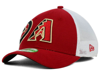 Arizona Diamondbacks New Era MLB Kids Double Mesh 39THIRTY Cap
