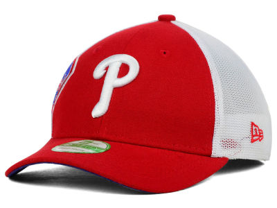 Philadelphia Phillies New Era MLB Kids Double Mesh 39THIRTY Cap