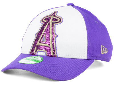 Los Angeles Angels New Era MLB Kids Over Glittered 9FORTY Cap