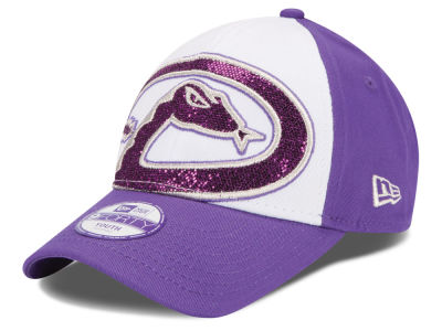 Arizona Diamondbacks New Era MLB Kids Over Glittered 9FORTY Cap