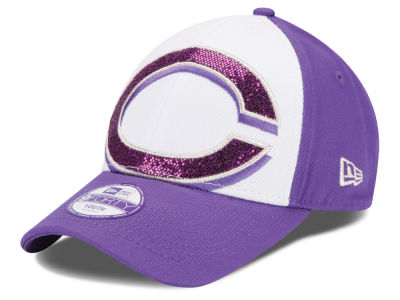 Cincinnati Reds New Era MLB Kids Over Glittered 9FORTY Cap