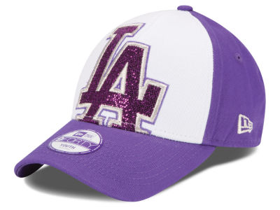 Los Angeles Dodgers New Era MLB Kids Over Glittered 9FORTY Cap