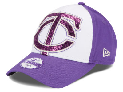 Minnesota Twins New Era MLB Kids Over Glittered 9FORTY Cap
