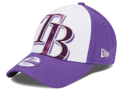 Tampa Bay Rays New Era MLB Kids Over Glittered 9FORTY Cap