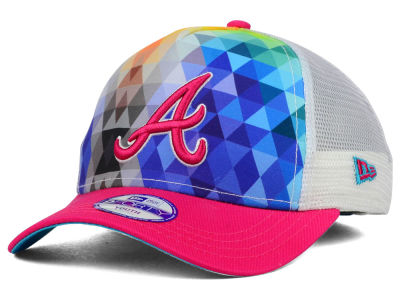 Atlanta Braves New Era MLB Youth Gem Trucker 9FORTY Cap