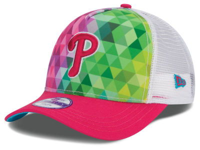 Philadelphia Phillies New Era MLB Youth Gem Trucker 9FORTY Cap