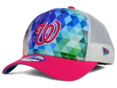 Washington Nationals New Era MLB Youth Gem Trucker 9FORTY Cap