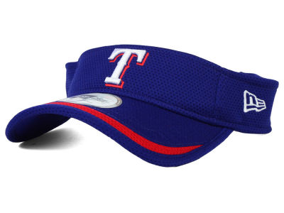 Texas Rangers New Era MLB Lined Visor