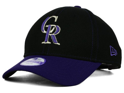 Colorado Rockies New Era MLB Junior Fundamental Diamond Era 9FORTY Cap