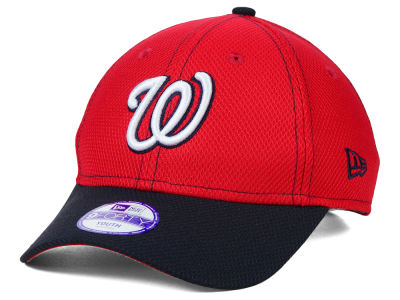 Washington Nationals New Era MLB Junior Fundamental Diamond Era 9FORTY Cap