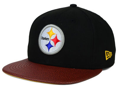 Pittsburgh Steelers Super Bowl XIV New Era NFL Athlete Vize 9FIFTY Snapback Cap