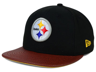 Pittsburgh Steelers Super Bowl XL New Era NFL Athlete Vize 9FIFTY Snapback Cap