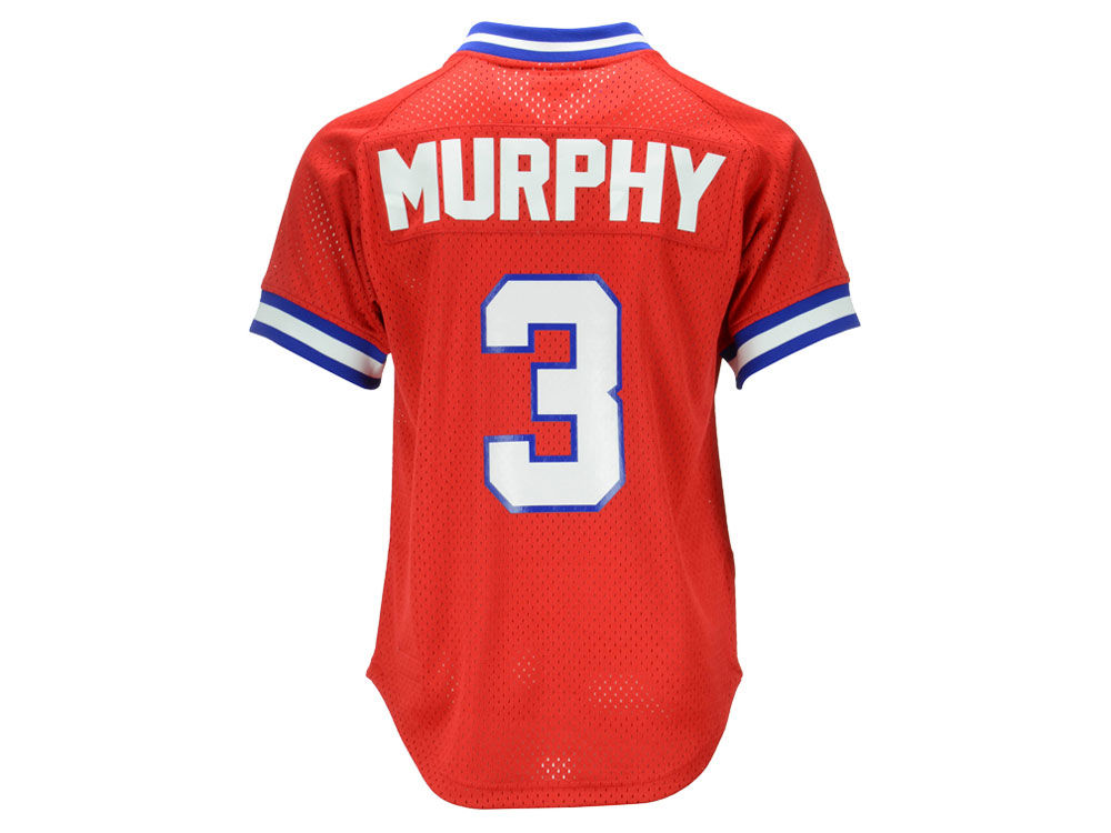 35e3ca94a7a Atlanta Braves Dale Murphy Mitchell   Ness MLB Men s Authentic Mesh Batting  Practice V-Neck Jersey