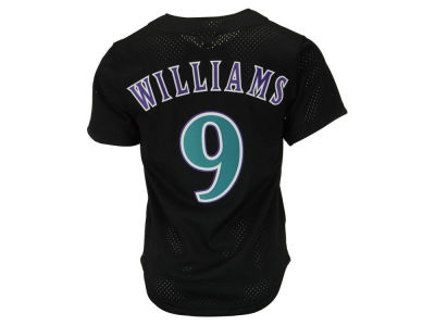 Arizona Diamondbacks Matt Williams Mitchell & Ness MLB Men's Authentic Mesh Batting Practice V-Neck Jersey