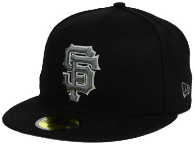 San Francisco Giants New Era MLB Black Graphite 59FIFTY Cap