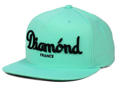 Diamond Champagne Snapback Hat