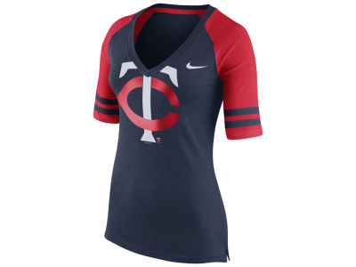 Minnesota Twins Nike MLB Women's Logo Fan Shirt