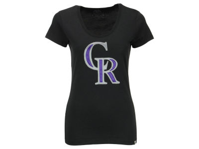 Colorado Rockies '47 MLB Women's Satin Scoop T-Shirt