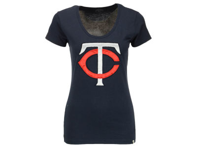 Minnesota Twins '47 MLB Women's Satin Scoop T-Shirt