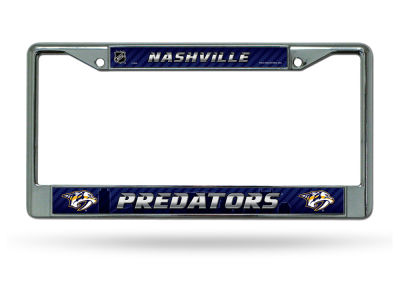 Nashville Predators Chrome Frame