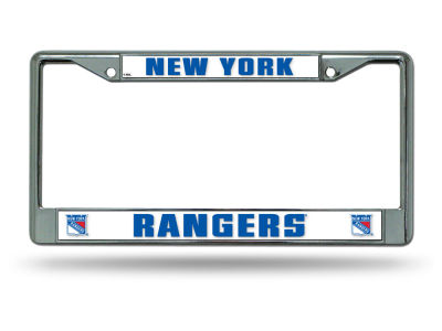 New York Rangers Chrome Frame