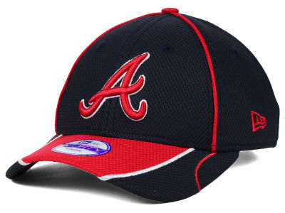 Atlanta Braves New Era MLB Junior Fan Wave Diamond Era 9FORTY Cap