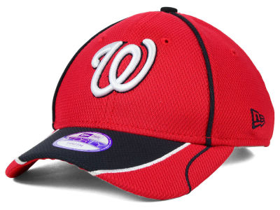 Washington Nationals New Era MLB Junior Fan Wave Diamond Era 9FORTY Cap