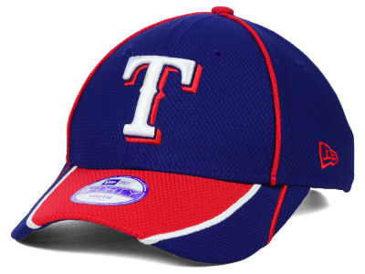 Texas Rangers New Era MLB Junior Fan Wave Diamond Era 9FORTY Cap
