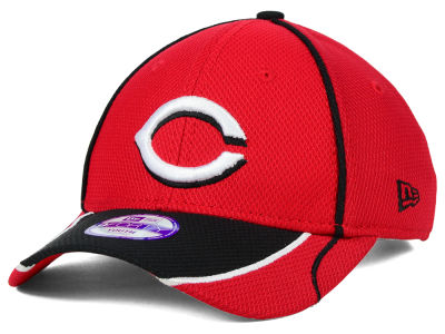 Cincinnati Reds New Era MLB Junior Fan Wave Diamond Era 9FORTY Cap