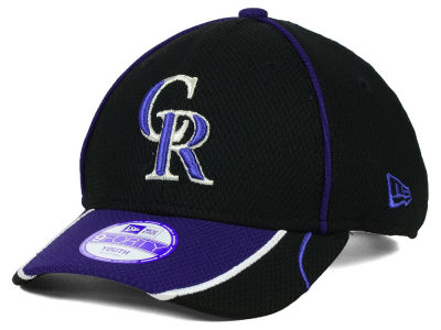 Colorado Rockies New Era MLB Junior Fan Wave Diamond Era 9FORTY Cap