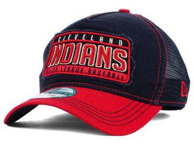 Cleveland Indians New Era MLB Trip Trucker 9FORTY Cap
