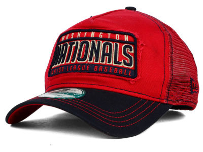 Washington Nationals New Era MLB Trip Trucker 9FORTY Cap