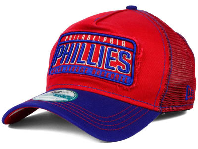 Philadelphia Phillies New Era MLB Trip Trucker 9FORTY Cap